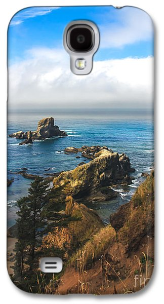 Seacape Galaxy S4 Cases - A View From Ecola State Park Galaxy S4 Case by Robert Bales