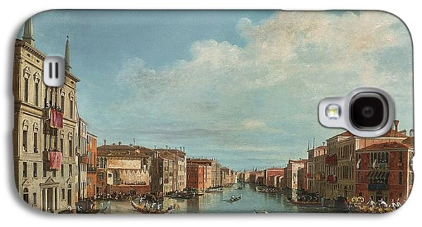 The Followers Galaxy S4 Cases - A View Of The Grand Canal With A Regatta Galaxy S4 Case by Celestial Images
