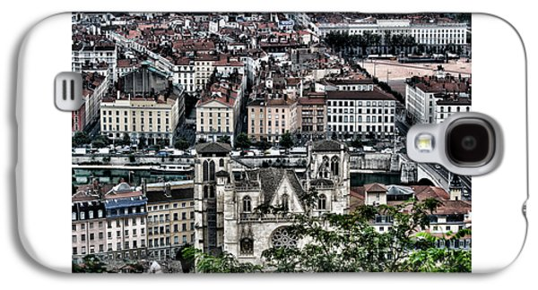 Landscapes Photographs Galaxy S4 Cases - A view of Vienne France Galaxy S4 Case by Tom Prendergast