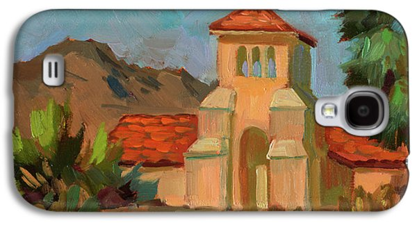 A Warm Day At Borrego Springs Lutheran Galaxy S4 Case by Diane McClary