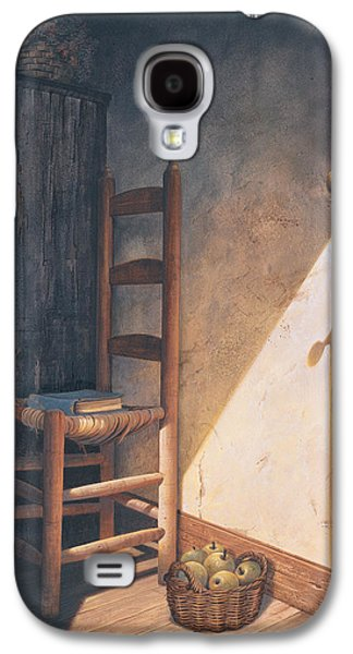 Chair Galaxy S4 Cases - A Warm Welcome Galaxy S4 Case by Michael Humphries