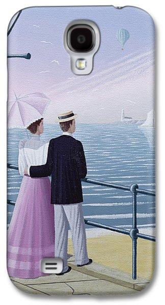 Boaters Galaxy S4 Cases - A Weekend Break, 1996 Galaxy S4 Case by Peter Szumowski