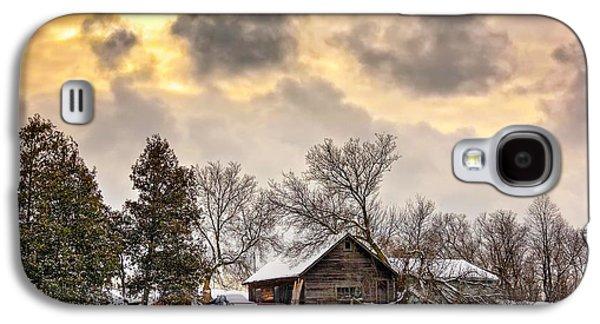 Steve Harrington Galaxy S4 Cases - A Winter Sky Galaxy S4 Case by Steve Harrington