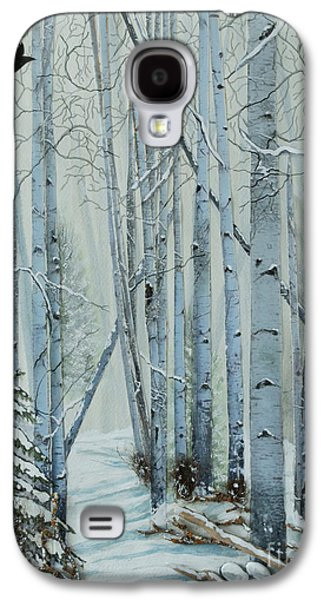 Surreal Landscape Galaxy S4 Cases - A Winters Tale Galaxy S4 Case by Stanza Widen