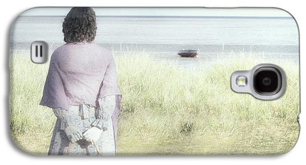 Beach Landscape Galaxy S4 Cases - A Woman And The Sea Galaxy S4 Case by Joana Kruse