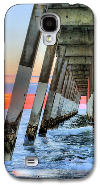Topsail Galaxy S4 Cases - A Wrightsville Beach Morning Galaxy S4 Case by JC Findley