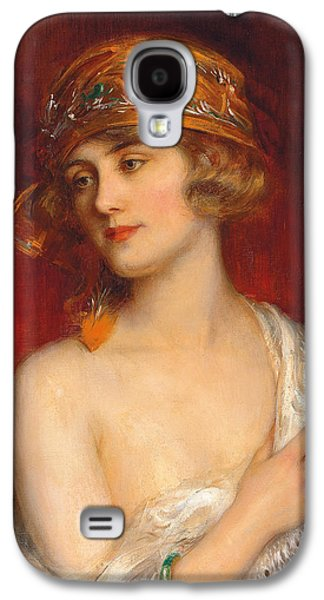 Youthful Galaxy S4 Cases - A Young Beauty Galaxy S4 Case by Albert Lynch