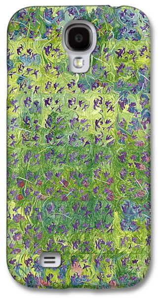 Garden Scene Galaxy S4 Cases - Aaq993166 Galaxy S4 Case by Leigh Glover