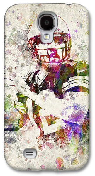 Splutter Digital Galaxy S4 Cases - Aaron Rodgers Galaxy S4 Case by Aged Pixel