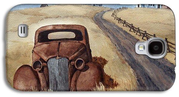 Transportation Ceramics Galaxy S4 Cases - Abandoned Galaxy S4 Case by Dan Krapf