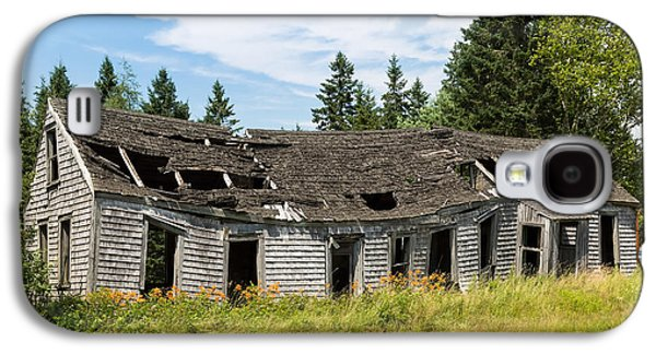 Rural Maine Roads Galaxy S4 Cases - Abandoned Galaxy S4 Case by John Bailey