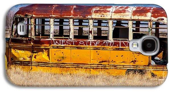 Enterprise Galaxy S4 Cases - Abandoned Metro Bus - Rural Utah Galaxy S4 Case by Gary Whitton