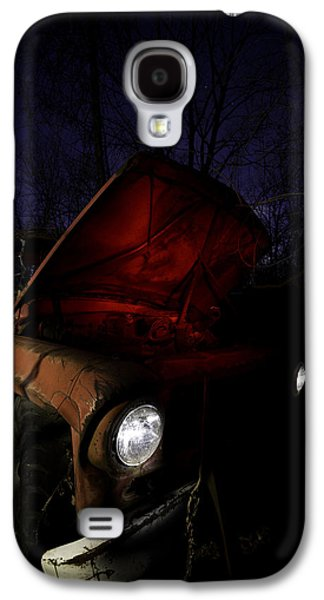 Old Trucks Photographs Galaxy S4 Cases - Abandoned Truck Galaxy S4 Case by Cale Best