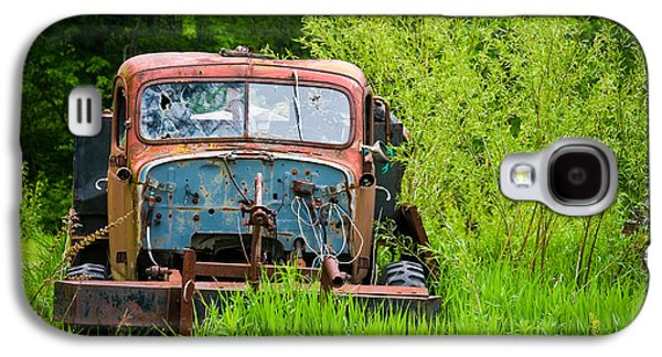 Truck Photographs Galaxy S4 Cases - Abandoned Truck in Rural Michigan Galaxy S4 Case by Adam Romanowicz