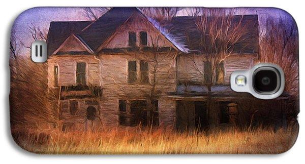 """""""haunted House"""" Galaxy S4 Cases - Abandonment At Nightfall Galaxy S4 Case by Georgiana Romanovna"""