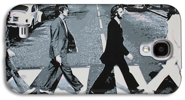Pepper Paintings Galaxy S4 Cases - Abbey Road 2013 Galaxy S4 Case by Luis Ludzska