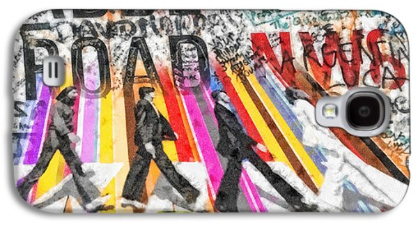 Abbey Road Galaxy S4 Case by Mo T