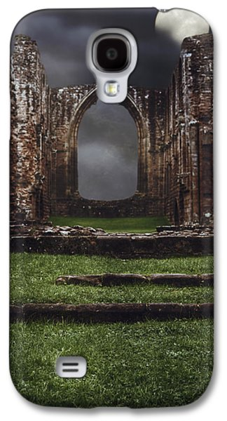 Creepy Galaxy S4 Cases - Abbey Steps Galaxy S4 Case by Amanda And Christopher Elwell