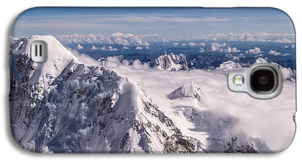 Landmarks Photographs Galaxy S4 Cases - Above Denali Galaxy S4 Case by Chad Dutson