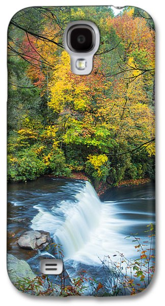 Carolina Galaxy S4 Cases - Above Hooker Falls Galaxy S4 Case by Andres Leon