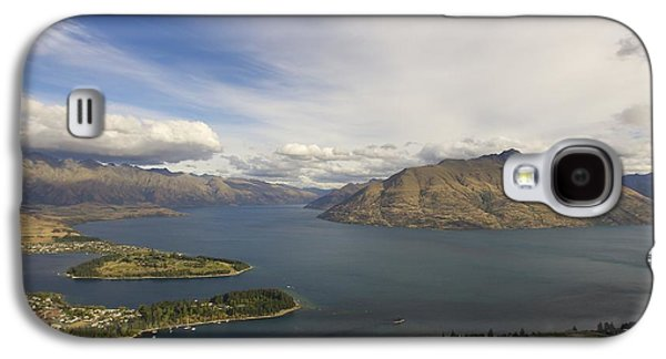 Waterscape Galaxy S4 Cases - Above Queenstown #2 Galaxy S4 Case by Stuart Litoff