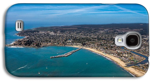 Steamer Lane Galaxy S4 Cases - Above Santa Cruz California Looking West Galaxy S4 Case by Randy Straka