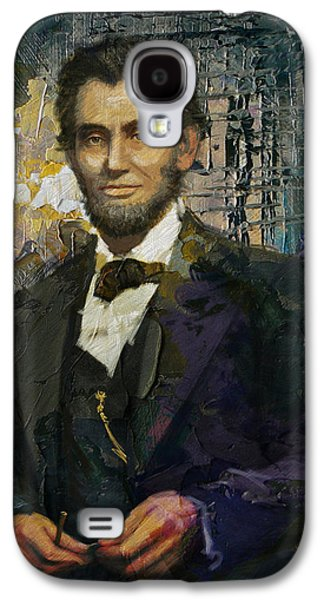 Personality Galaxy S4 Cases - Abraham Lincoln 07 Galaxy S4 Case by Corporate Art Task Force