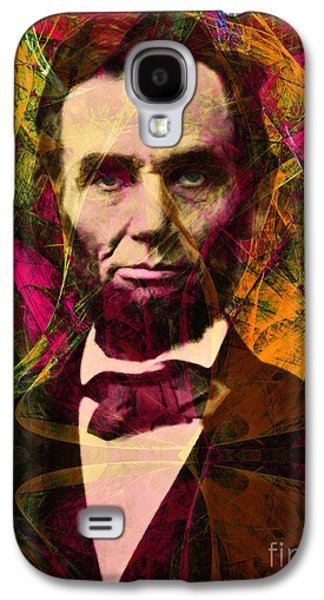 4th July Galaxy S4 Cases - Abraham Lincoln 2014020502 Galaxy S4 Case by Wingsdomain Art and Photography