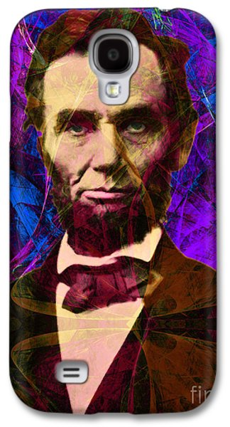 4th July Galaxy S4 Cases - Abraham Lincoln 2014020502m118 Galaxy S4 Case by Wingsdomain Art and Photography