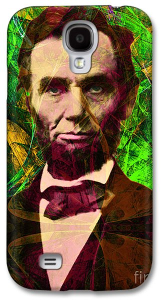 4th July Galaxy S4 Cases - Abraham Lincoln 2014020502p68 Galaxy S4 Case by Wingsdomain Art and Photography