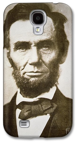 Abraham Lincoln Galaxy S4 Case by Alexander Gardner