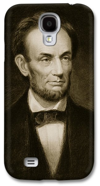 Republican Paintings Galaxy S4 Cases - Abraham Lincoln Galaxy S4 Case by Francis Bicknell Carpenter