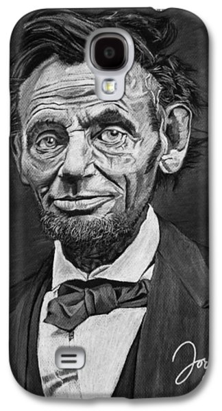 Slavery Galaxy S4 Cases - Abraham Lincoln Galaxy S4 Case by Jordan Spector