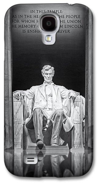 Susan Candelario Galaxy S4 Cases - Abraham Lincoln Memorial Galaxy S4 Case by Susan Candelario