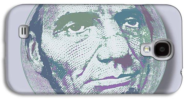 Abraham Lincoln Orb Galaxy S4 Case by Tony Rubino