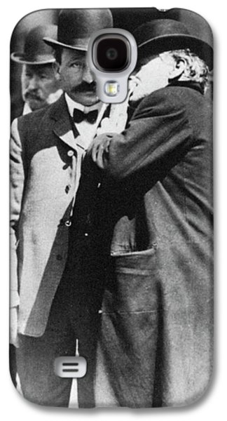 Abraham Ruef (1864-1936) Galaxy S4 Case by Granger