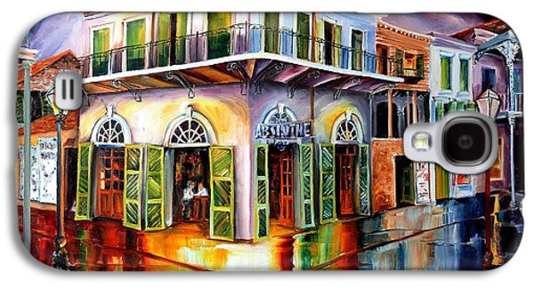 Balcony Galaxy S4 Cases - Absinthe House New Orleans Galaxy S4 Case by Diane Millsap