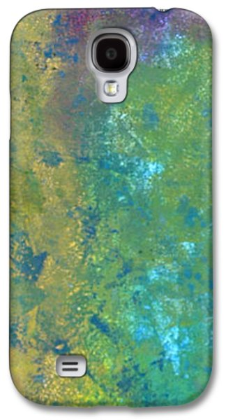 Abstract Digital Mixed Media Galaxy S4 Cases - Abstact 6 Galaxy S4 Case by Corina Bishop