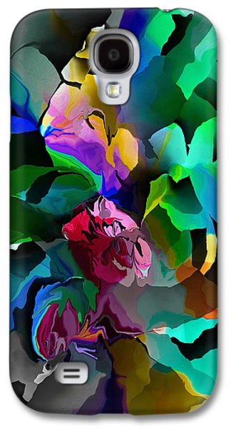 Abstract Digital Galaxy S4 Cases - Abstract 061413 Galaxy S4 Case by David Lane