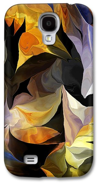 Abstract Digital Galaxy S4 Cases - Abstract 061613 Galaxy S4 Case by David Lane