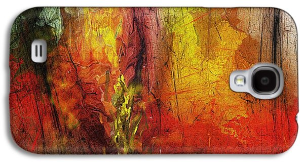 Abstract Digital Digital Art Galaxy S4 Cases - Abstract 062913 Galaxy S4 Case by David Lane
