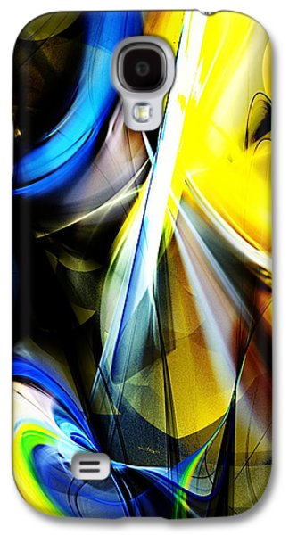 Abstract Digital Art Galaxy S4 Cases - Abstract 063013A Galaxy S4 Case by David Lane
