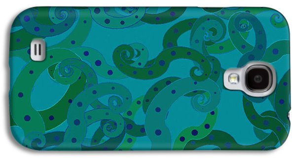 Burned Clay Galaxy S4 Cases - Abstract 067 Galaxy S4 Case by Victor Gladkiy