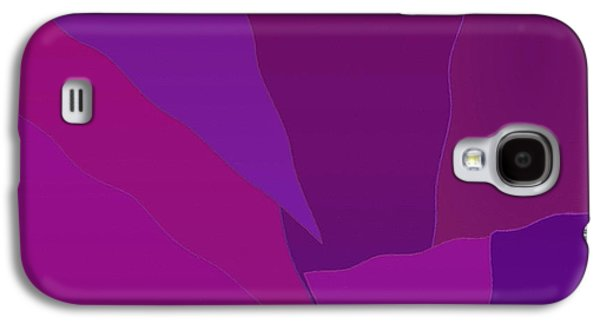 Cambridge Paintings Galaxy S4 Cases - Abstract 070 Galaxy S4 Case by Victor Gladkiy