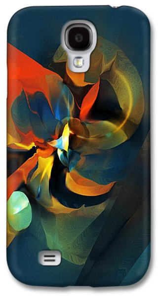 Abstract Digital Galaxy S4 Cases - Abstract 070113 Galaxy S4 Case by David Lane