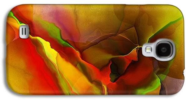 Abstract Digital Art Galaxy S4 Cases - Abstract 070213 Galaxy S4 Case by David Lane