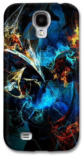 Abstract Digital Digital Art Galaxy S4 Cases - Abstract 080613 Galaxy S4 Case by David Lane