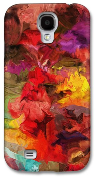 Abstract Digital Digital Art Galaxy S4 Cases - Abstract 081313 Galaxy S4 Case by David Lane