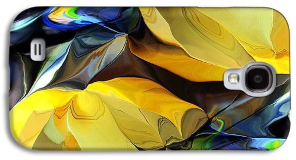 Abstract Digital Galaxy S4 Cases - Abstract 082413A Galaxy S4 Case by David Lane