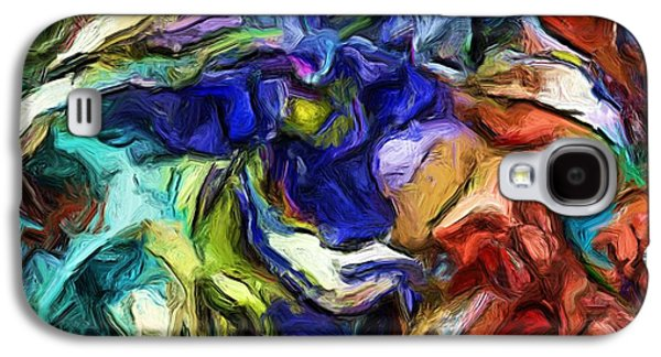 Abstract Digital Art Galaxy S4 Cases - Abstract 082713b Galaxy S4 Case by David Lane